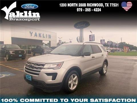2018 Ford Explorer for sale in Richwood, TX