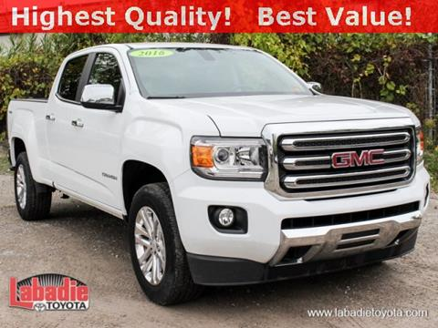 2016 GMC Canyon for sale in Bay City, MI