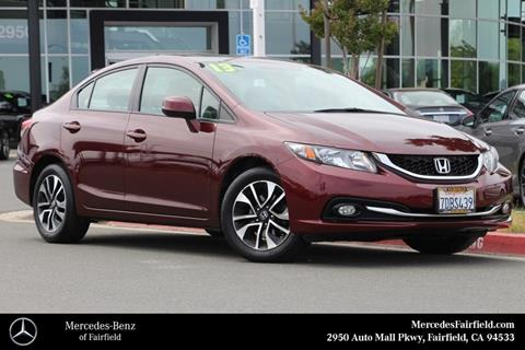 2013 Honda Civic for sale in Fairfield, CA