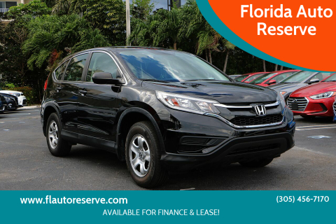 2016 Honda CR-V for sale at Florida Auto Reserve in Medley FL