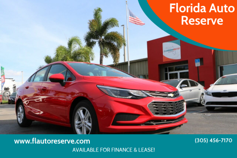 2016 Chevrolet Cruze for sale at Florida Auto Reserve in Medley FL