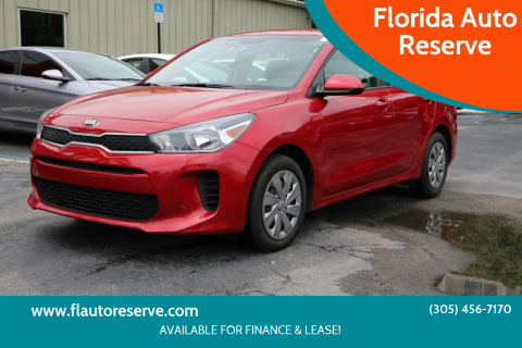 2019 Kia Rio for sale at Florida Auto Reserve in Medley FL