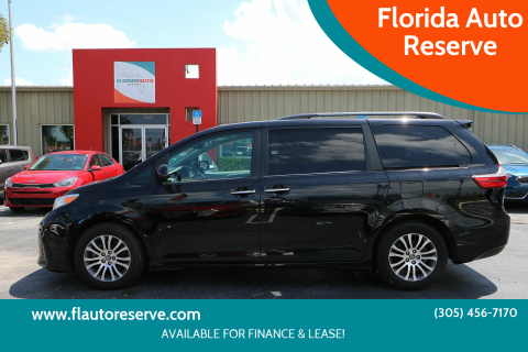 2018 Toyota Sienna for sale at Florida Auto Reserve in Medley FL