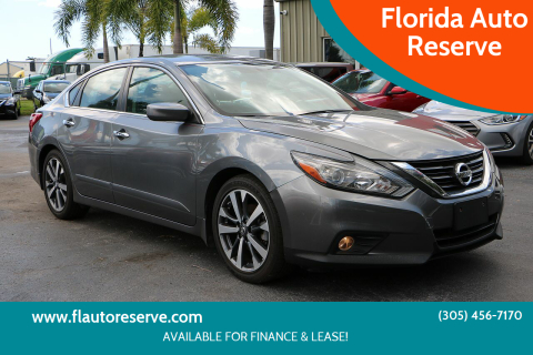 2016 Nissan Altima for sale at Florida Auto Reserve in Medley FL