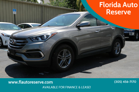 2017 Hyundai Santa Fe Sport for sale at Florida Auto Reserve in Medley FL