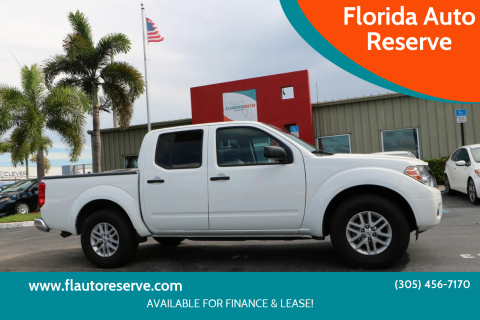 2019 Nissan Frontier for sale at Florida Auto Reserve in Medley FL