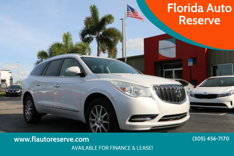 2016 Buick Enclave for sale at Florida Auto Reserve in Medley FL