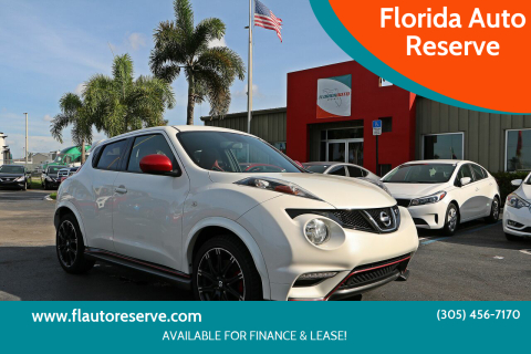 2014 Nissan JUKE for sale at Florida Auto Reserve in Medley FL