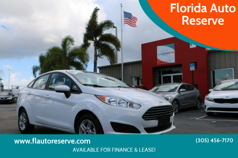 2018 Ford Fiesta for sale at Florida Auto Reserve in Medley FL