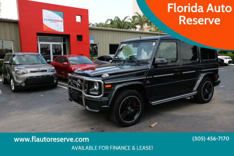2016 Mercedes-Benz G-Class for sale at Florida Auto Reserve in Medley FL
