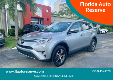 2018 Toyota RAV4 for sale at Florida Auto Reserve in Medley FL