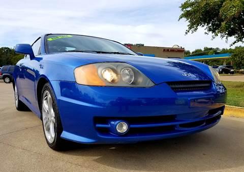 2004 Hyundai Tiburon for sale in Tyler, TX