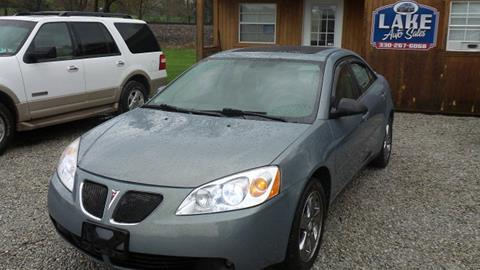2007 Pontiac G6 for sale in Hartville, OH