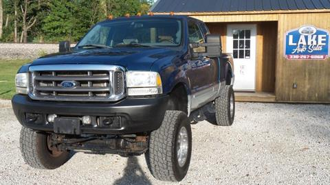 2001 Ford F-250 Super Duty for sale in Hartville, OH