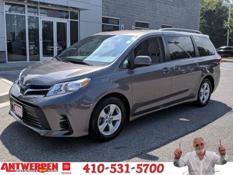 2018 Toyota Sienna for sale in Clarksville, MD