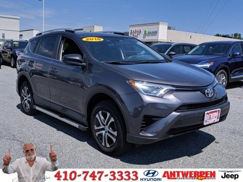 2016 Toyota RAV4 for sale in Baltimore, MD