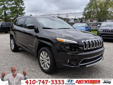2016 Jeep Cherokee for sale in Baltimore, MD