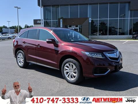 2017 Acura RDX for sale in Baltimore, MD