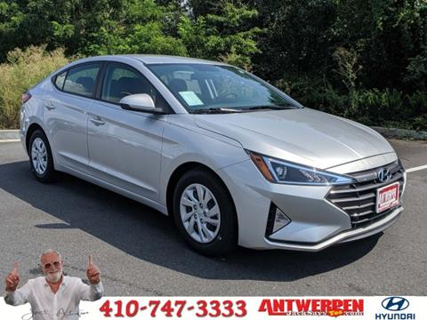 2019 Hyundai Elantra for sale in Baltimore, MD