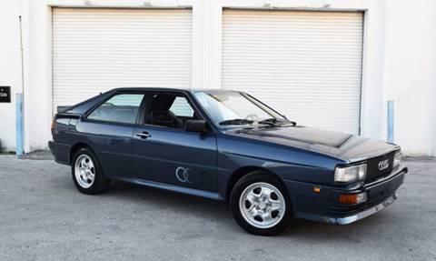 1983 Audi Quattro for sale in Miami, FL