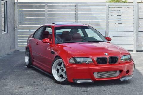 2002 BMW M3 for sale at RMC Miami in Miami FL