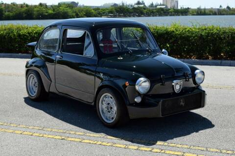 1967 FIAT 600 ABARTH for sale at RMC Miami in Miami FL