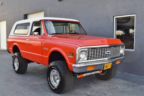 1972 Chevrolet Blazer for sale at RMC Miami in Miami FL