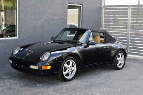 1995 Porsche 911 Carrera for sale at RMC Miami in Miami FL
