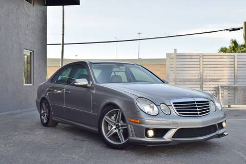 2007 Mercedes-Benz E-Class E 63 AMG for sale at RMC Miami in Miami FL