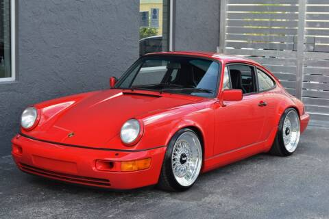 1989 Porsche 911 Carrera 4 for sale at RMC Miami in Miami FL