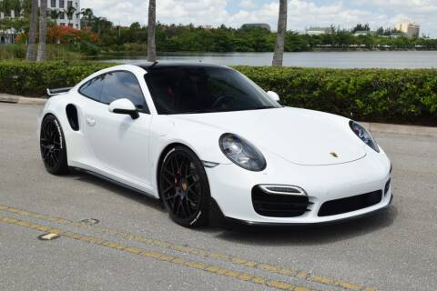 2015 Porsche 911 Turbo for sale at RMC Miami in Miami FL