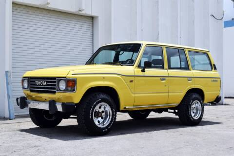 1985 Toyota Land Cruiser for sale at RMC Miami in Miami FL