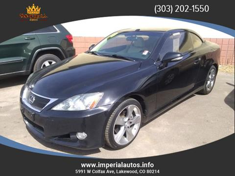 2010 Lexus IS 250C for sale in Lakewood, CO