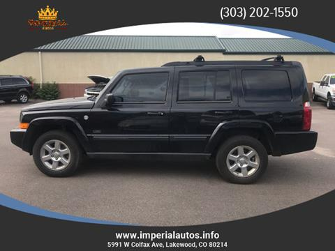 2007 Jeep Commander for sale in Lakewood, CO
