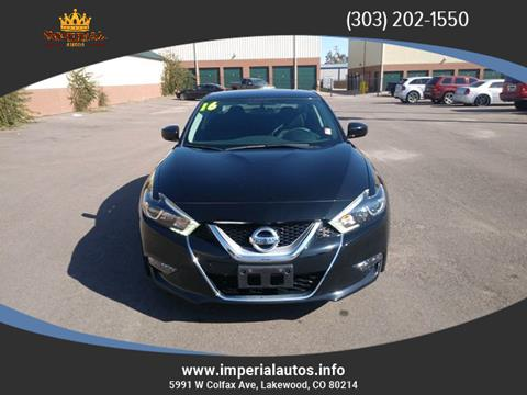 2016 Nissan Maxima for sale in Lakewood, CO