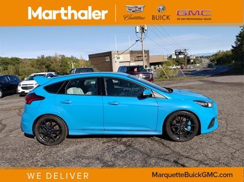 2017 Ford Focus for sale in Marquette, MI