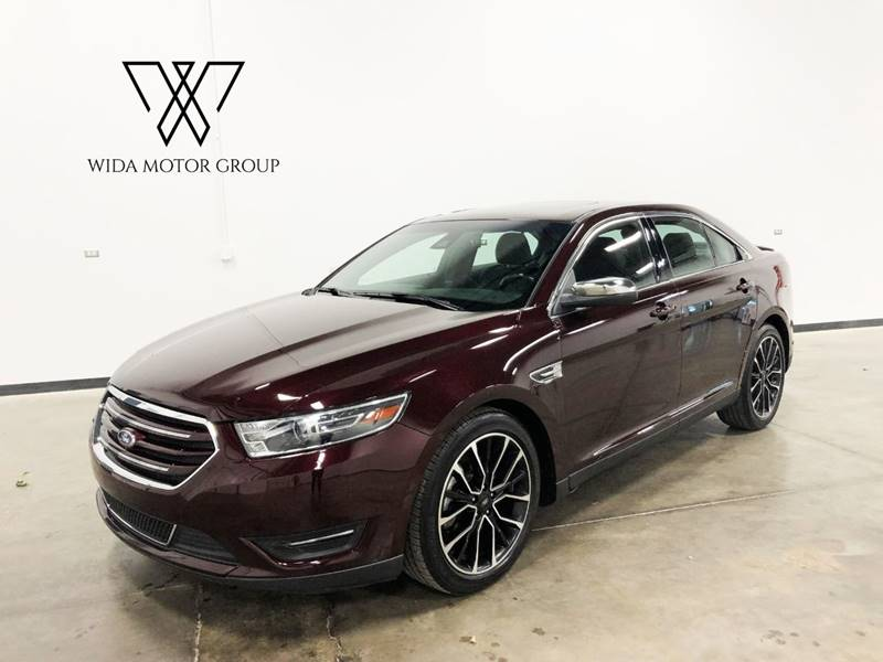 2018 Ford Taurus for sale at Wida Motor Group in Bolingbrook IL