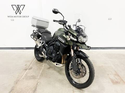 2014 Triumph Tiger Explorer 1200 XC for sale at Wida Motor Group in Bolingbrook IL