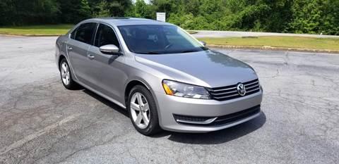 2012 Volkswagen Passat for sale in Gadsden, AL