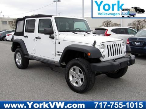 2014 Jeep Wrangler Unlimited for sale in York, PA