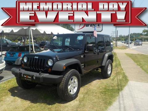 2010 Jeep Wrangler Unlimited for sale in Virginia Beach, VA