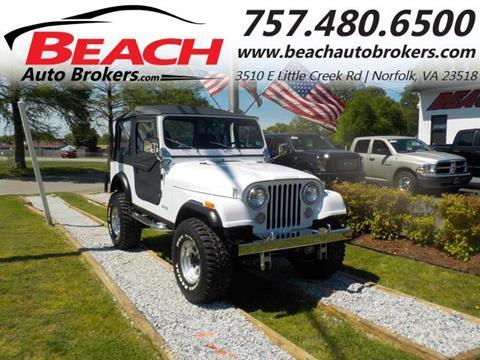 1983 Jeep CJ-7 for sale in Norfolk, VA