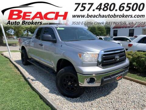 2013 Toyota Tundra for sale at Beach Auto Brokers in Norfolk VA
