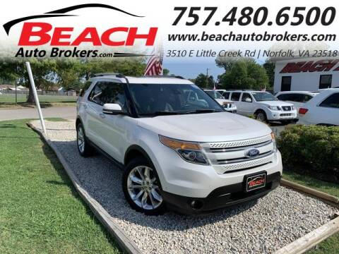 2015 Ford Explorer for sale at Beach Auto Brokers in Norfolk VA