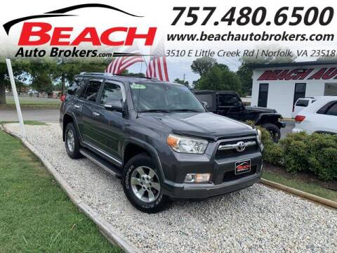 2010 Toyota 4Runner for sale at Beach Auto Brokers in Norfolk VA