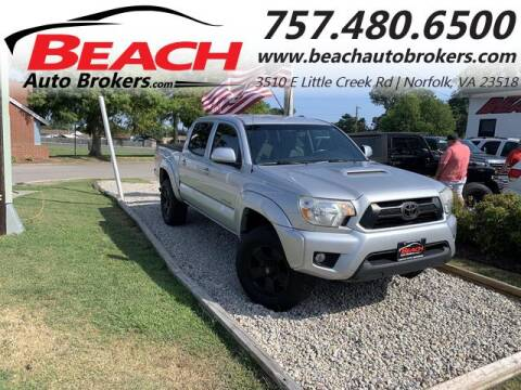 2012 Toyota Tacoma for sale at Beach Auto Brokers in Norfolk VA