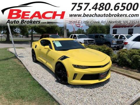2017 Chevrolet Camaro for sale at Beach Auto Brokers in Norfolk VA