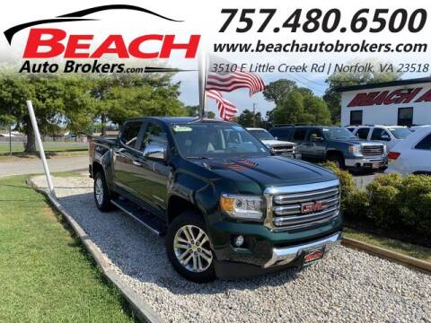 2016 GMC Canyon for sale at Beach Auto Brokers in Norfolk VA