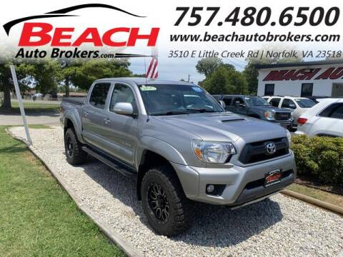2015 Toyota Tacoma for sale at Beach Auto Brokers in Norfolk VA