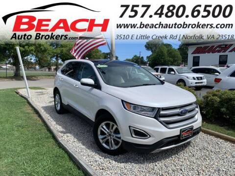 2015 Ford Edge for sale at Beach Auto Brokers in Norfolk VA